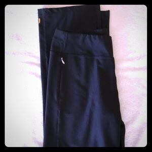 Lucy Everyday Collection Black Pants, Sz LTall